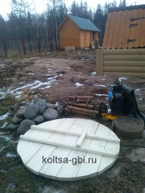 Чистка колодцев Одинцовский район
